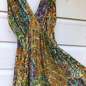 Indian Boho Summer Maxi Beach dress